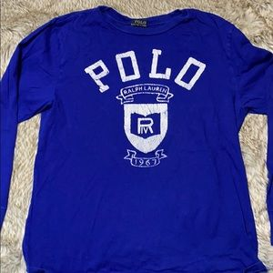 Polo Ralph Lauren long sleeve tee shirt .